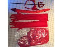 Red Devil accessories- Halloween