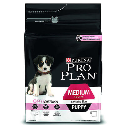 Pro Plan Medium Puppy Sensitive Skin Dog Food - 3kg