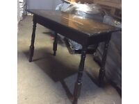 ANTIQUE VINTAGE SOLID TIMBER TABLES, OUT OF AN OLD PUB