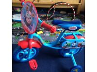 'My first Thomas bike'