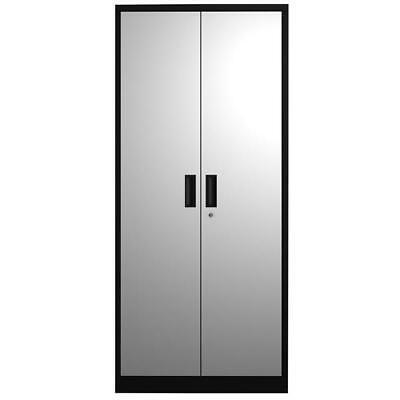 "Heavy Duty 70.9"" Metal Storage File Cabinet Locking Door W/4 Adjustable Shelves"