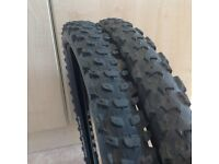 Mountain bike tyres for sale
