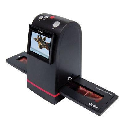 "Rollei DF-S 100 SE Foto Dia  Scanner 1800dpi 2,4"" TFT Monitor SD 5 MP"