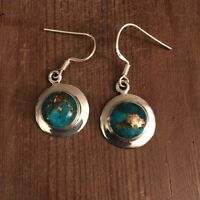 Beautiful Turquoise and Silver earrings