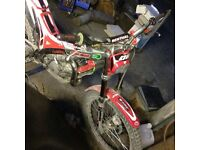 Swap 125cc gasgas trials bike good condition for a quad or buggy