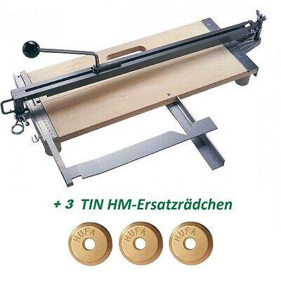Hufa  Fliesenschneider Fliesenschneidmaschine 800 mm CAL-premium +3 Schneidräder