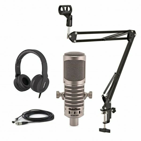 SubZero Broadcasting Dynamic Microphone Pack