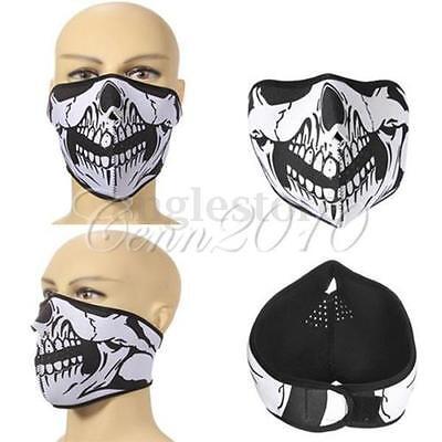 Skull Neoprene Half Face Mask Nect Sport Sk Snowboard Motorcycle Bike Protection