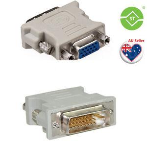DVI D Male To VGA Female Socket Adapter Converter