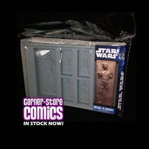 Star Wars ICE TRAY Silicone HAN SOLO Carbonite Kotobukiya IN STOCK!