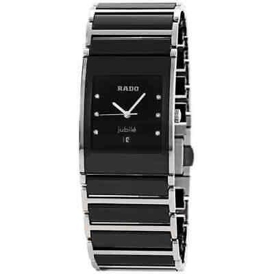 Rado Integral Ceramic Black Dial Men's Watch R20784752