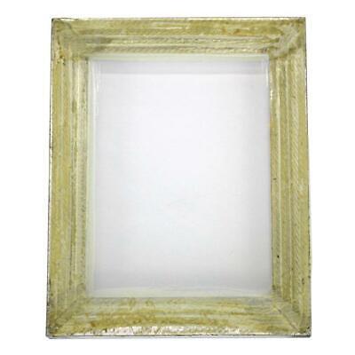 1 Aluminum Silk Screen Printing Press Screens 110 White Mesh 10 X 14