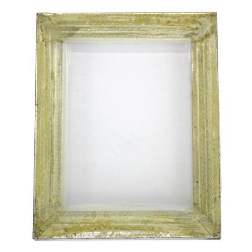 "1 Aluminum Silk Screen Printing Press Screens 110 White Mesh 10"" x 14"""