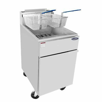 Commercial Deep Fryer Natural Gas 75 Lb Nsf Restaurant Equipment Fast Recovery