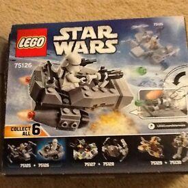 Lego Star Wars Snowspeeder no 75126 (vgc)