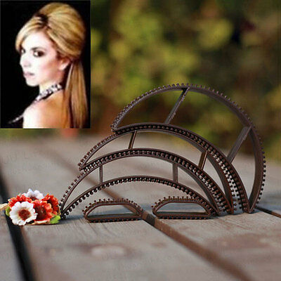 5Pcs/Set Women Lady Hair Volumizing Bumpits Inserts Bump Up Clips Styling Tools