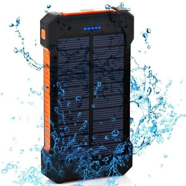 solar charger 2000000mah battery solar power bank