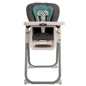 BRAND NEW !! Graco Table Fit High Chair, Green/Gray!!! NEVER US