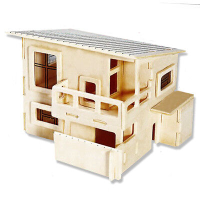 3-D Wooden Puzzle - Small Wateitaku Building - Gift Item