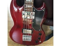 Westfield Bass Guitar and Stagg 20W amp