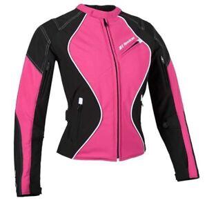 Manteau de moto Rocket pour femme - Aurora text