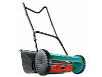 Brand New Bosch 38g push hand lawnmower