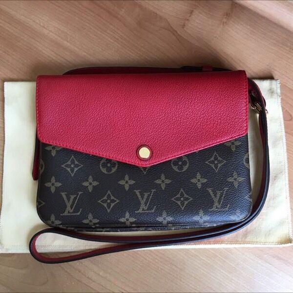 6e92eccee Louis Vuitton twice red Crossbody | in Edinburgh | Gumtree