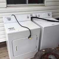 For sale: washer/dryer