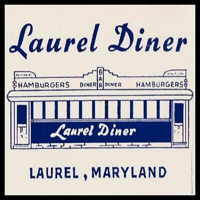 Laurel Diner Laurel Maryland Fridge Magnet