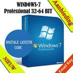 WINDOWS 7 PROFESSIONAL (32-BIT EN 64-BIT) Digitaal