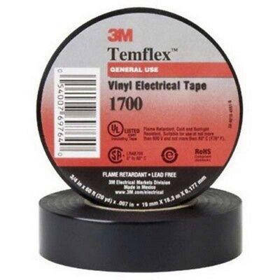 3M Temflex 1700 Electrical Tape 60 Feet