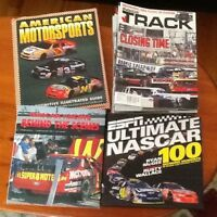RACING BOOKS AND MAGAZINES    In like new condition