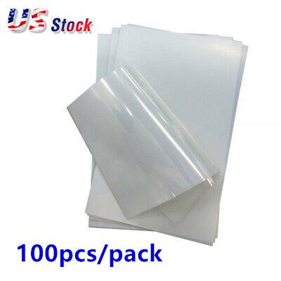 Us - 100 Sheets 13 X 19 Waterproof Inkjet Transparency Film For Screen Print