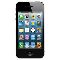Factory Unlocked Apple iPhone 4S Black 64GB Excellent Condition