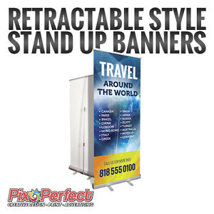 ★Roll Up Retractable Banner Printing ✂$5 OFF Gatineau Ottawa / Gatineau Area image 1