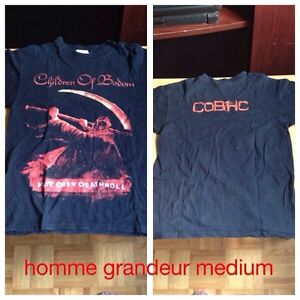 Tshirt metal children of bodom MEDIUM West Island Greater Montréal image 1