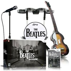 The Beatles rock band game and box set