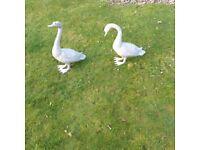 Metal ducks