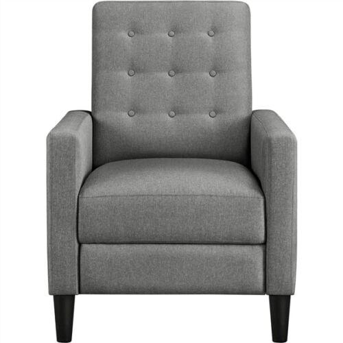 Adjustable Back & Footrest Tufted Upholstered Sofa with Pock
