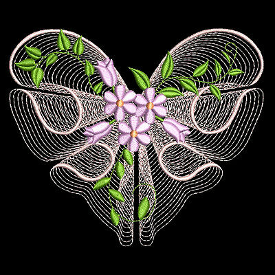 HEARTS OF LOVE - 30 MACHINE EMBROIDERY DESIGNS (AZEB)