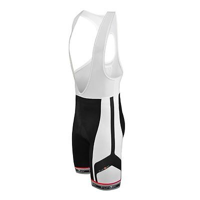 Funkier Elite Road Cycling Bib Shorts 4XL White Black 0942e58c4