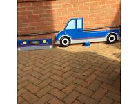 Great Little Trading Co truck toddler bed