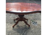 LOUIS STYLE DINNING TABLE FREE DELIVERY