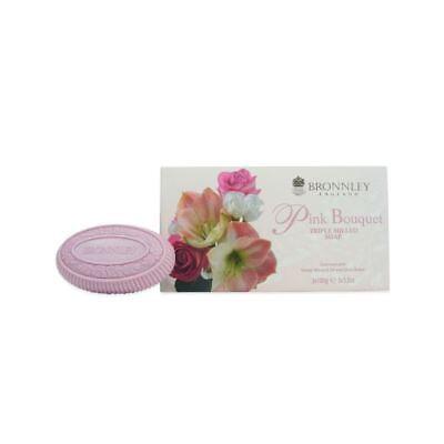 Bronnley Pink Bouquet Fine English Soap 3 x 100g ()