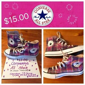 Sneakers / espadrilles CONVERSE All Star high tops Size: 7.5