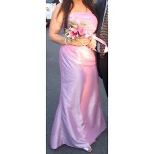 BEAUTIFUL PINK EVENING GOWN / DRESS
