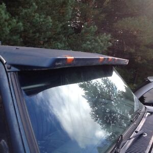 LUND SUN VISOR WITH LIGHTS FOR 73-87 CHEVY OR GMC TRUCKS