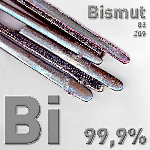 Bismut Wismut Metall 1 Kilogramm Kristalle züchten rein bismuth crystal kg Bi 99