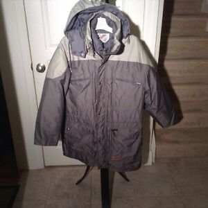 Men's genuine down jacket - size XL
