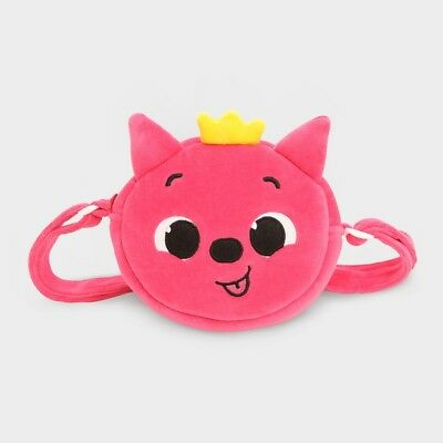 PINKFONG Cross Bag for Kids 17x17cm Adjustable Strap Cotton&Polyester 3Y+ Korea